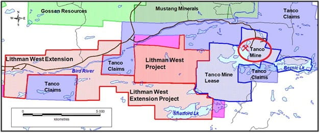 Lithman West Extension Project Claim Outline