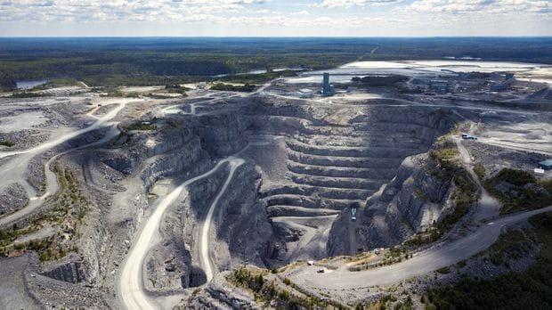 Lac des Iles Mine near Thunder Bay, ON
