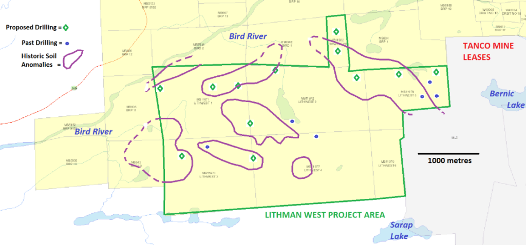 Lithman West historic soil anomalies