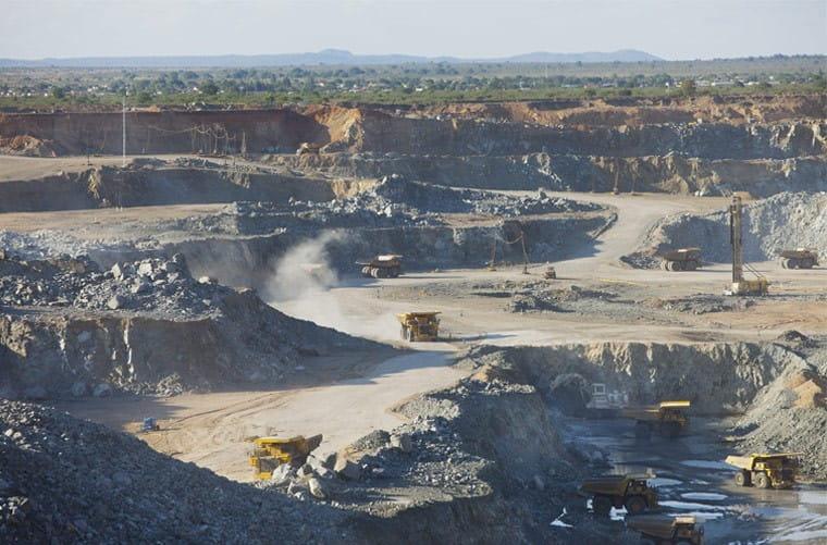 Mogalakwena PGM Mine in South Africa