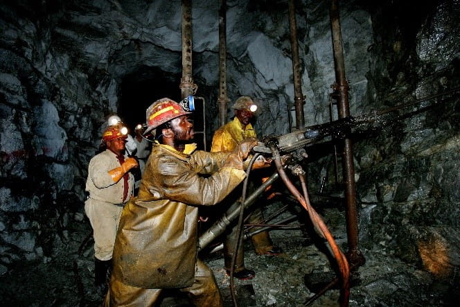 African PGM Mine